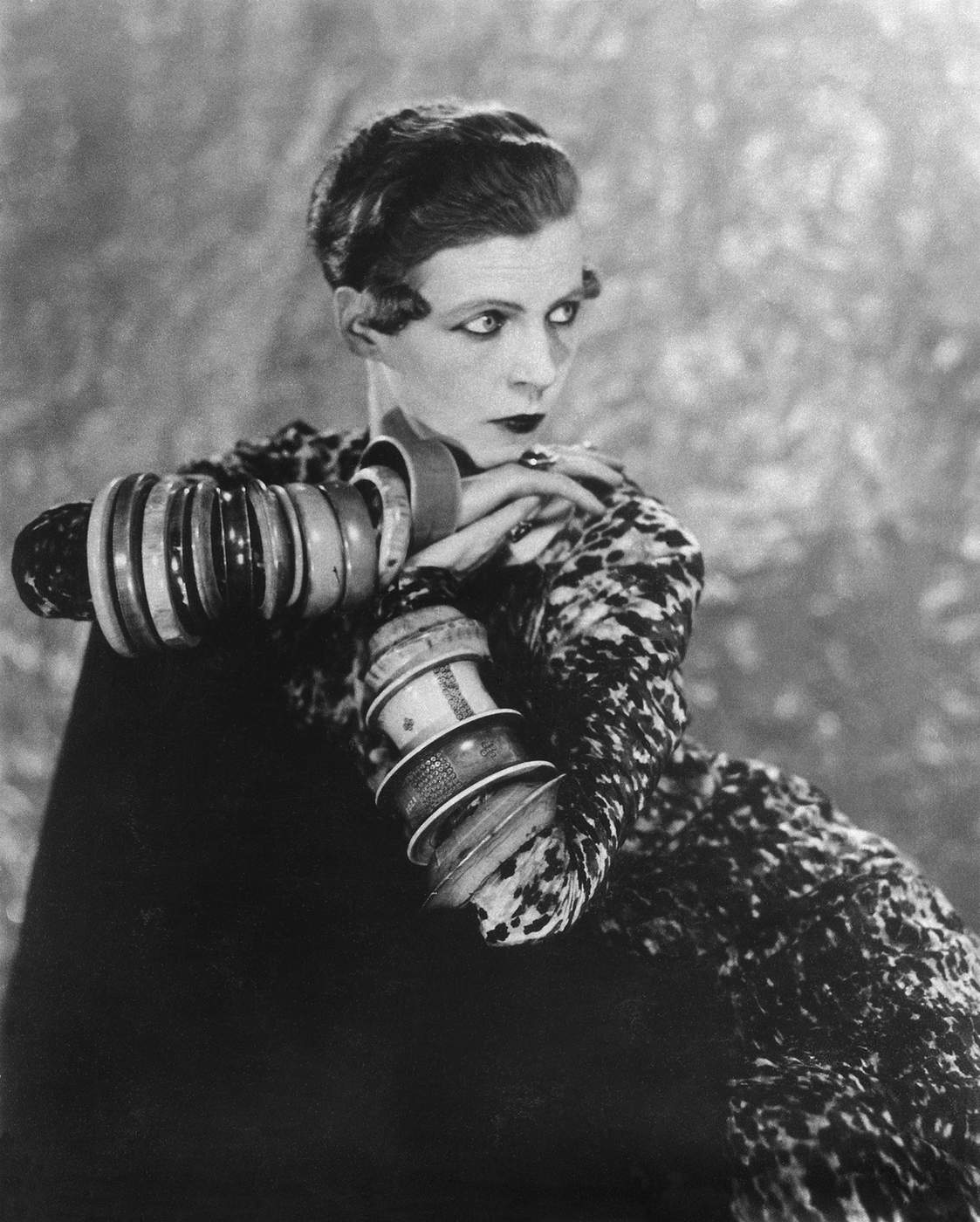 Nancy Cunard, 1926. Man Ray. Photo: Telimage – 2017 © Man Ray Trust\/ADAGP, Paris and DACS, London 2017