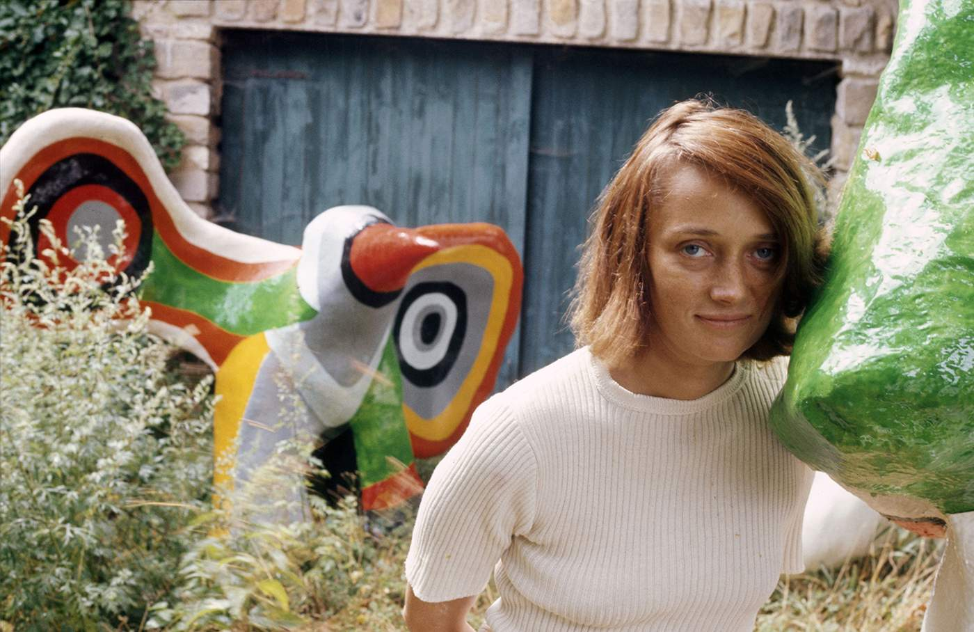 Niki de Saint Phalle c1960 ©Robert Doisneau\/Gamma-Rapho\/Getty